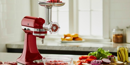 KitchenAid Metal Food Grinder Attachment Only $52 Shipped (Regularly $130)