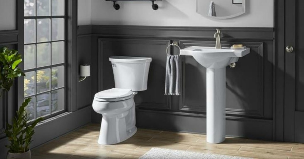 Super Kohler Comfort Height Toilet As Low As 74 50 At Lowes Beatyapartments Chair Design Images Beatyapartmentscom