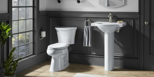 Kohler Comfort Height Toilet as Low as $74.50 at Lowe's (Regularly $150)