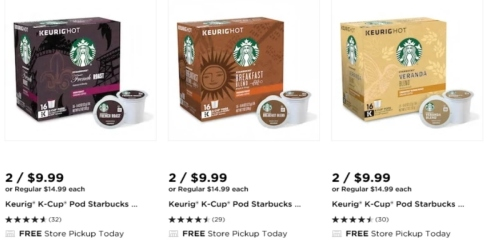 Kohl's: TWO K-Cups Packs Only $9.99