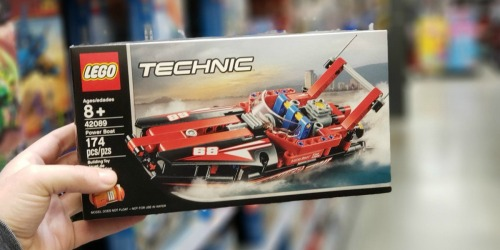 LEGO Technic Power Boat Set Only $9.74 (Regularly $15) + More