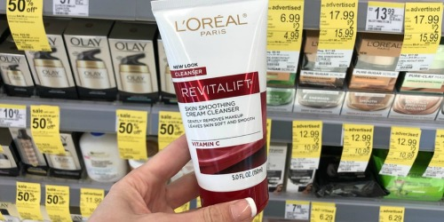 L'Oreal Revitalift Cream Cleanser Just $1.59 at Walgreens (Regularly $7) – Starting 3/24