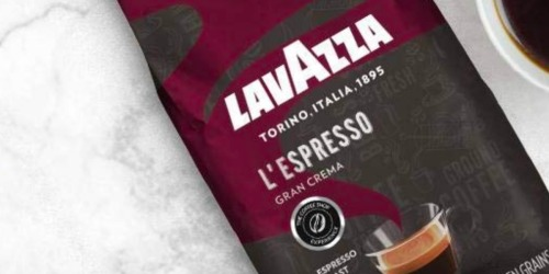 Amazon: Lavazza Gran Crema Whole Bean Coffee 2.2-Pound Bag Only $11.83 Shipped