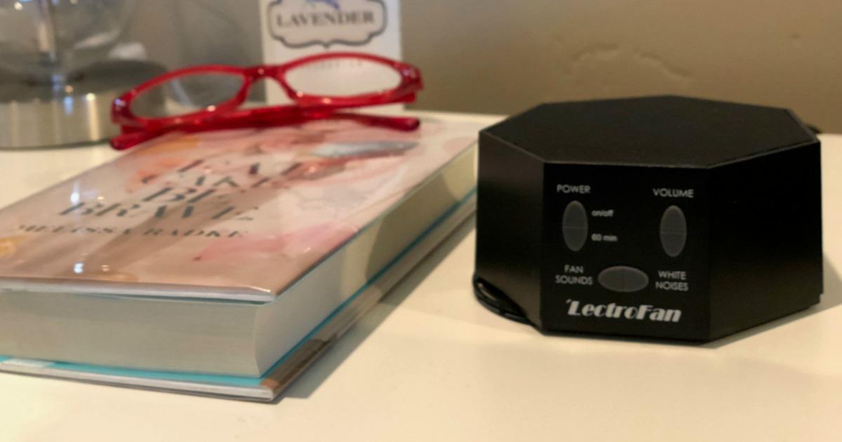 Amazon: LectroFan White Noise Machine Only $32.47 Shipped (Regularly $50)