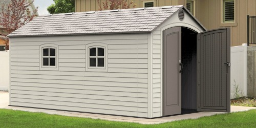 Lifetime 8′ x 15′ Storage Shed Just $1,299.99 Shipped (Regularly $1,550)