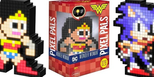 Light-Up Pixel Pals Figures Only $5.99 at GameStop (Regularly $15) – Wonder Woman, Sonic, & More