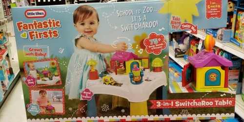 Little Tikes Switcharoo Table Only $20.99 at Target.com (Regularly $40)