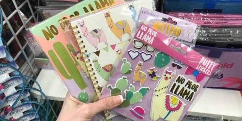 Llama Stationery Products Only $1 at Dollar Tree