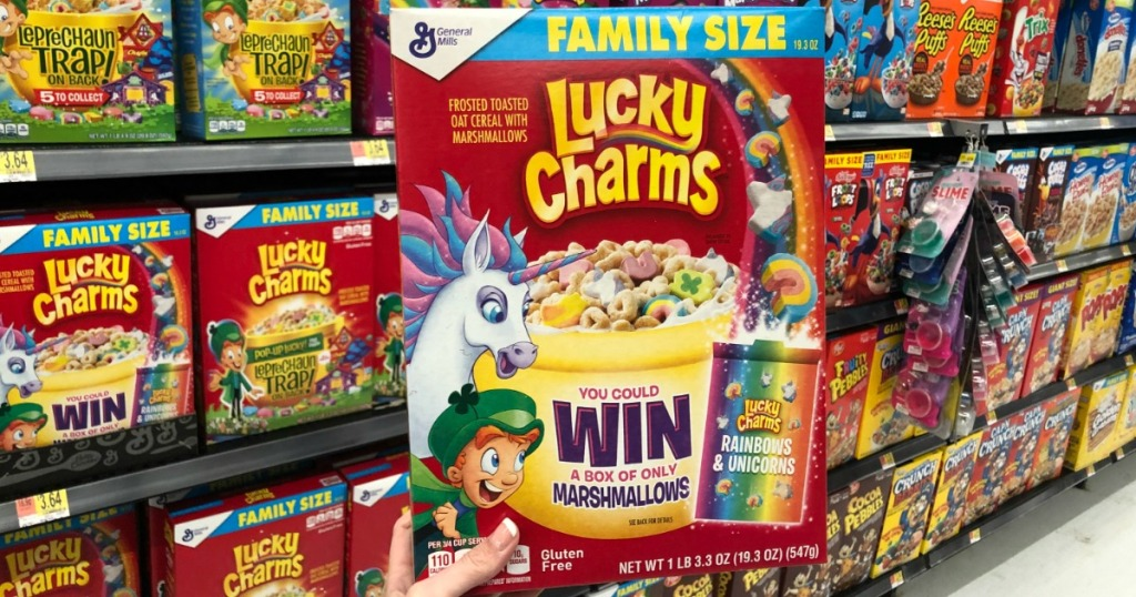 Lucky Charms Sweepstakes Games