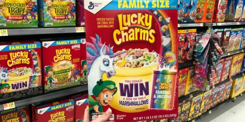 15,000 Win Lucky Charms Rainbow & Unicorns Marshmallows Only Pack Valued at $50?!