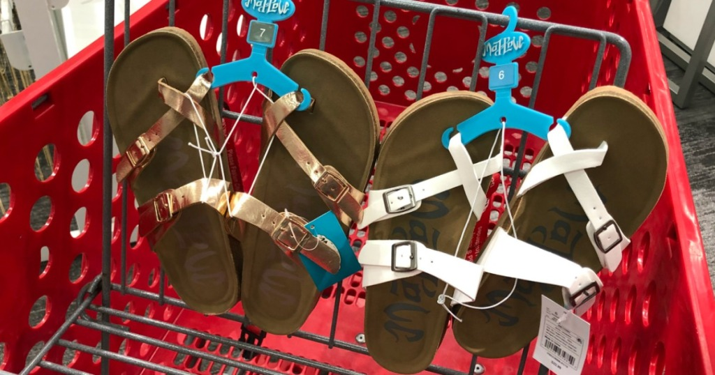 f34e2a21f023 Mad Love Prudence Footbed Sandals Only  17 Each at Target – Awesome Reviews