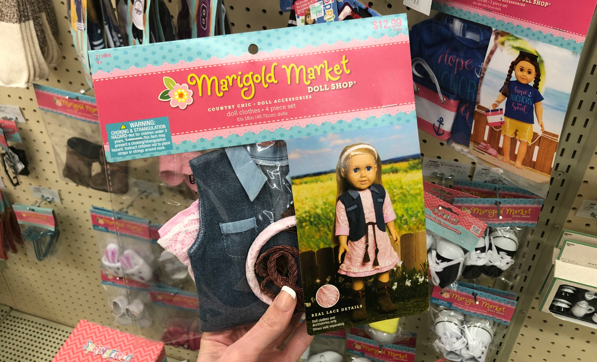 Marigold Market doll clothing at Hobby Lobby - American Girl