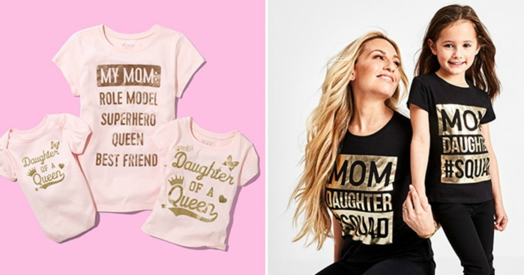 ba5b2b786 Matching Mom & Kids Tees Under $12 Shipped for BOTH at The Children's Place  & More