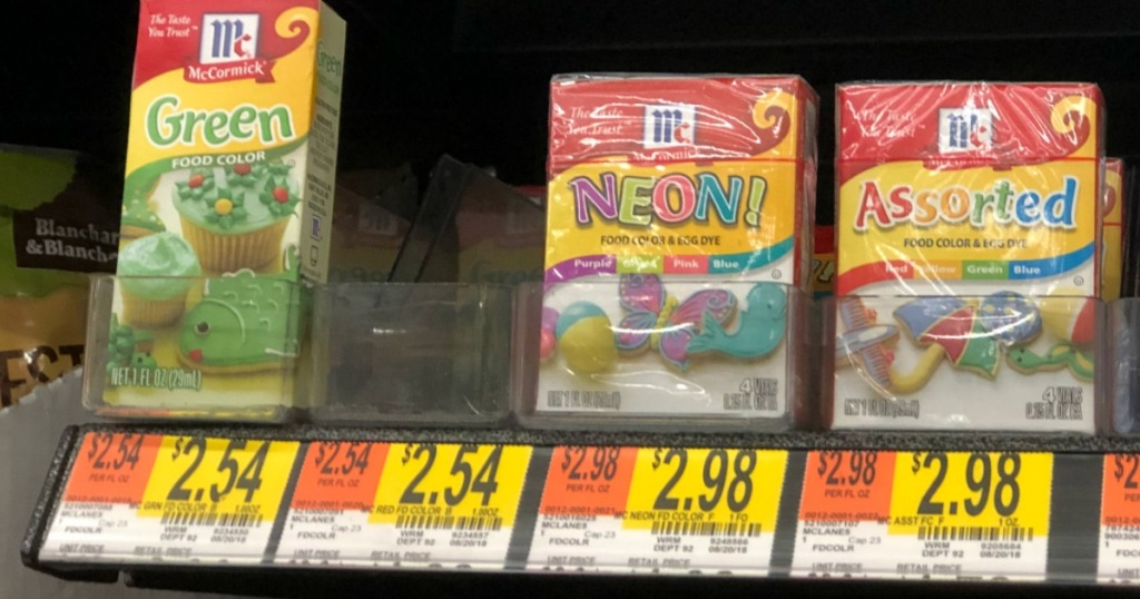 Over $3 Worth of New McCormick Coupons (Save on Food Coloring for ...
