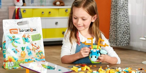 Amazon: Mega Construx Inventions Wild Pack Only $7.52 (Regularly $20) + More