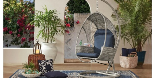 Member's Mark Woven Egg Chair w/ Cup Holder Just $399 at Sam's Club