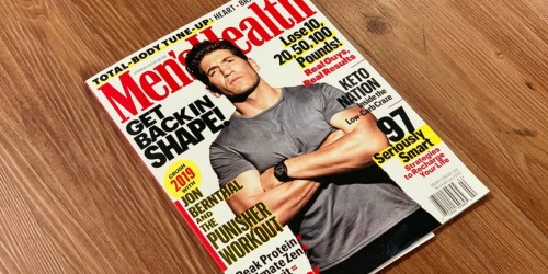 Free Magazine Subscription (Men's Health, People & More)