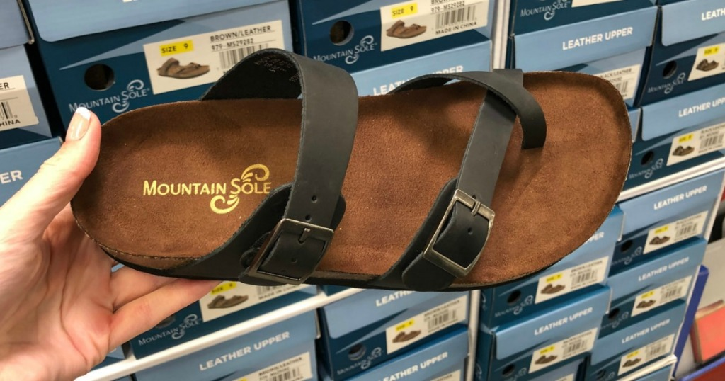 6c39be761def Mountain Sole Women s Sandals Only  15.98 at Sam s Club (In-Store ...