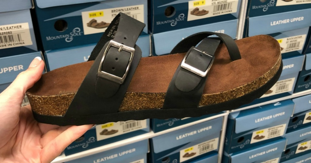 bcdac045f809 Mountain Sole Women s Sandals Only  15.98 at Sam s Club (In-Store   Online)