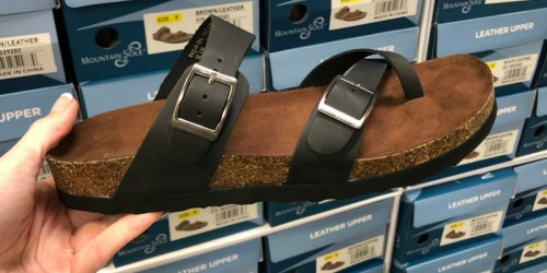 Mountain Sole Women's Sandals Only $15.98 at Sam's Club (In-Store & Online)
