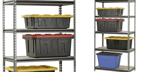 Muscle Rack Steel Shelving Unit Only $46 Shipped