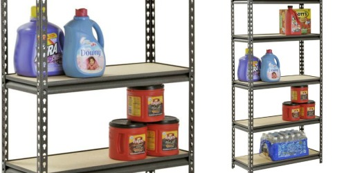 Muscle Rack Steel Shelving Unit Only $32.98 Shipped