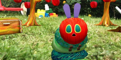 FREE My Very Hungry Caterpillar Augmented Reality iTunes App