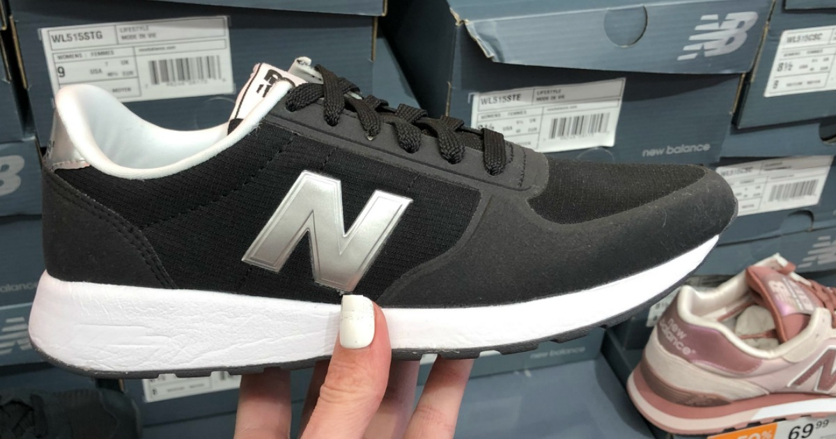 New Balance shoes in black