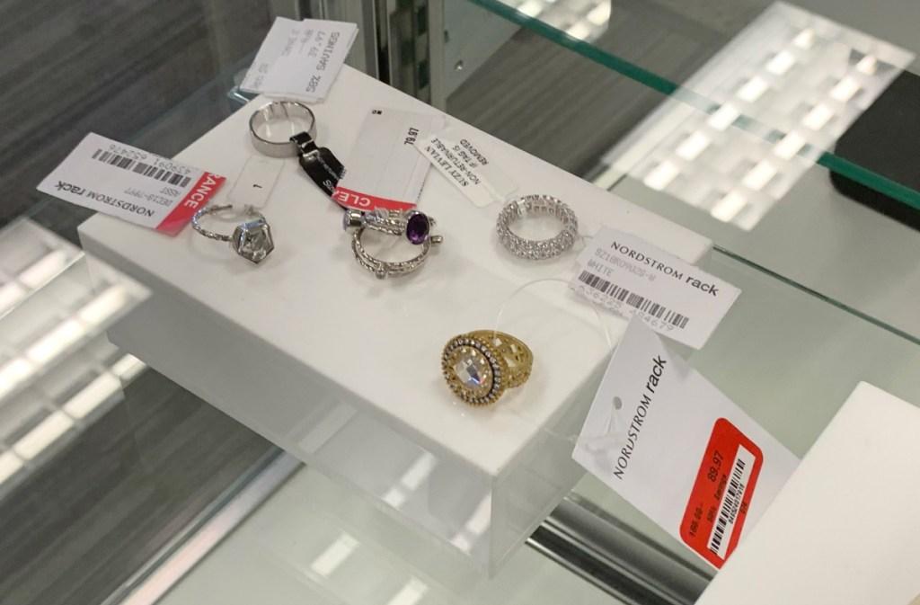 Nordstrom Rack store jewelry