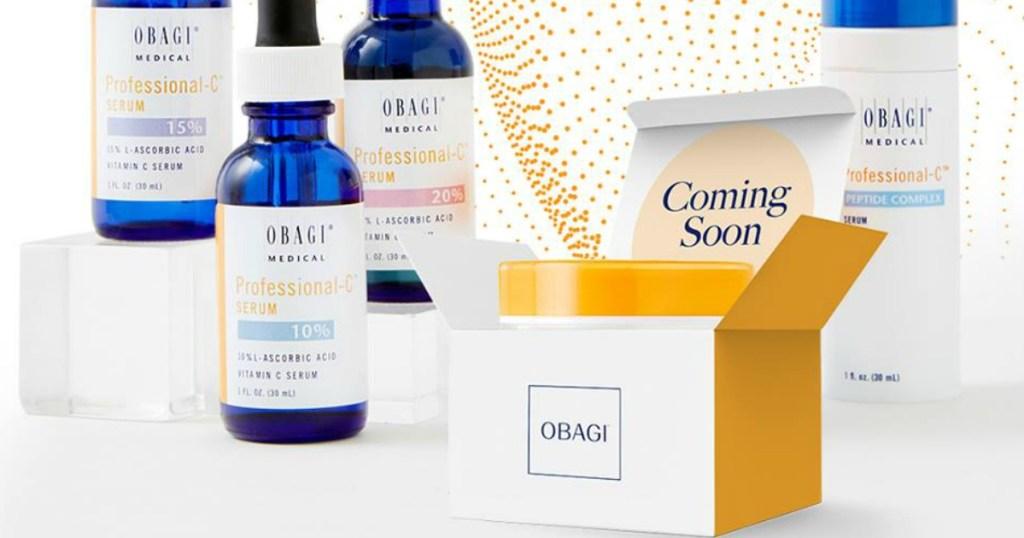 Request a FREE Obagi Vitamin C Skincare Sample