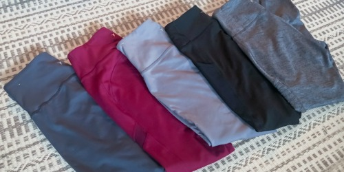 Old Navy Girls & Women's Compression Leggings from $10 (Regularly $20+) | Reader Fave!