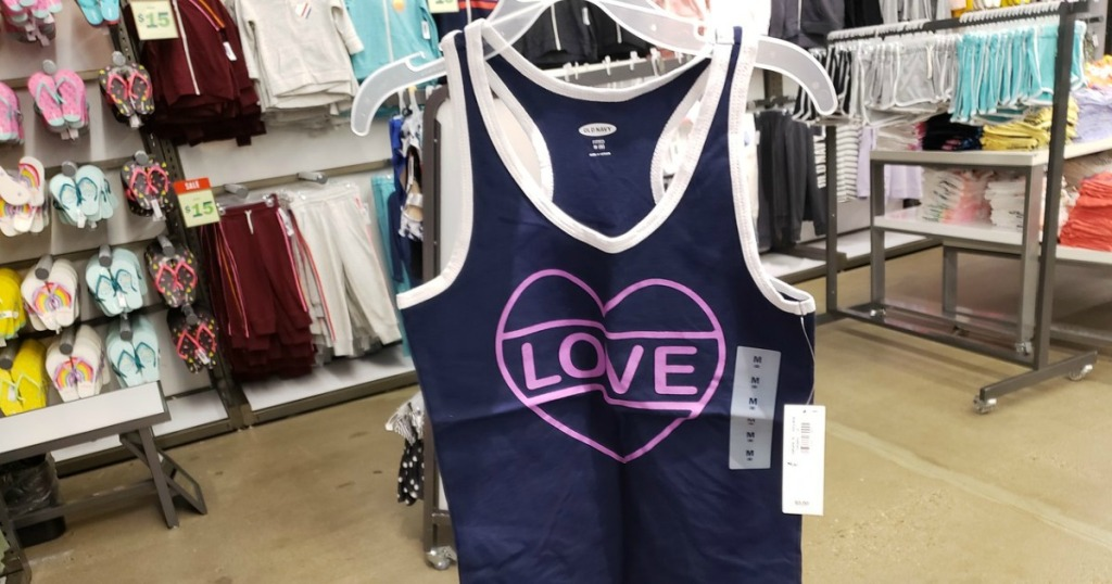 9e12e0012e9eb Hop on over to Old Navy where you can score tanks for women and girls for  only  2 – both in store and online (limit 5)!