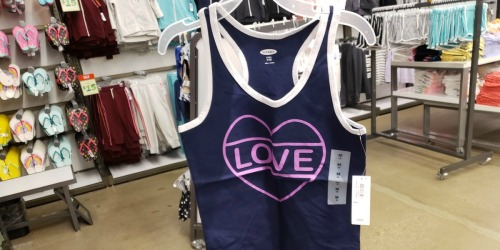 Old Navy Women's & Girls Tanks Just $2 (Regularly $10) – Cardholders Only