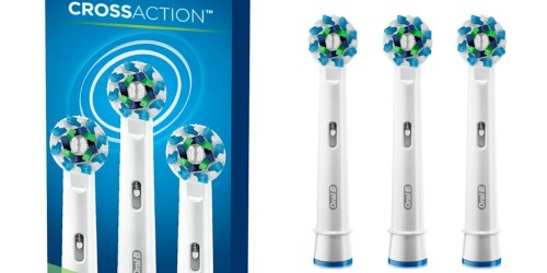 Oral-B Electric Toothbrush Replacement Head 3-Pack Just $12.99