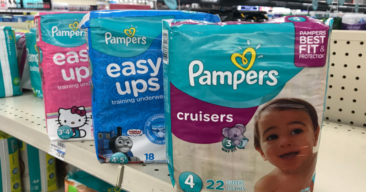 pampers easy ups cruisers diapers