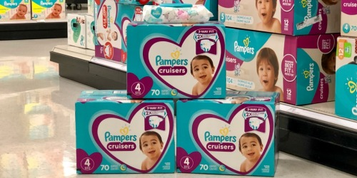 Pampers Cruisers Super Packs Only $15.82 Each After Target Gift Card