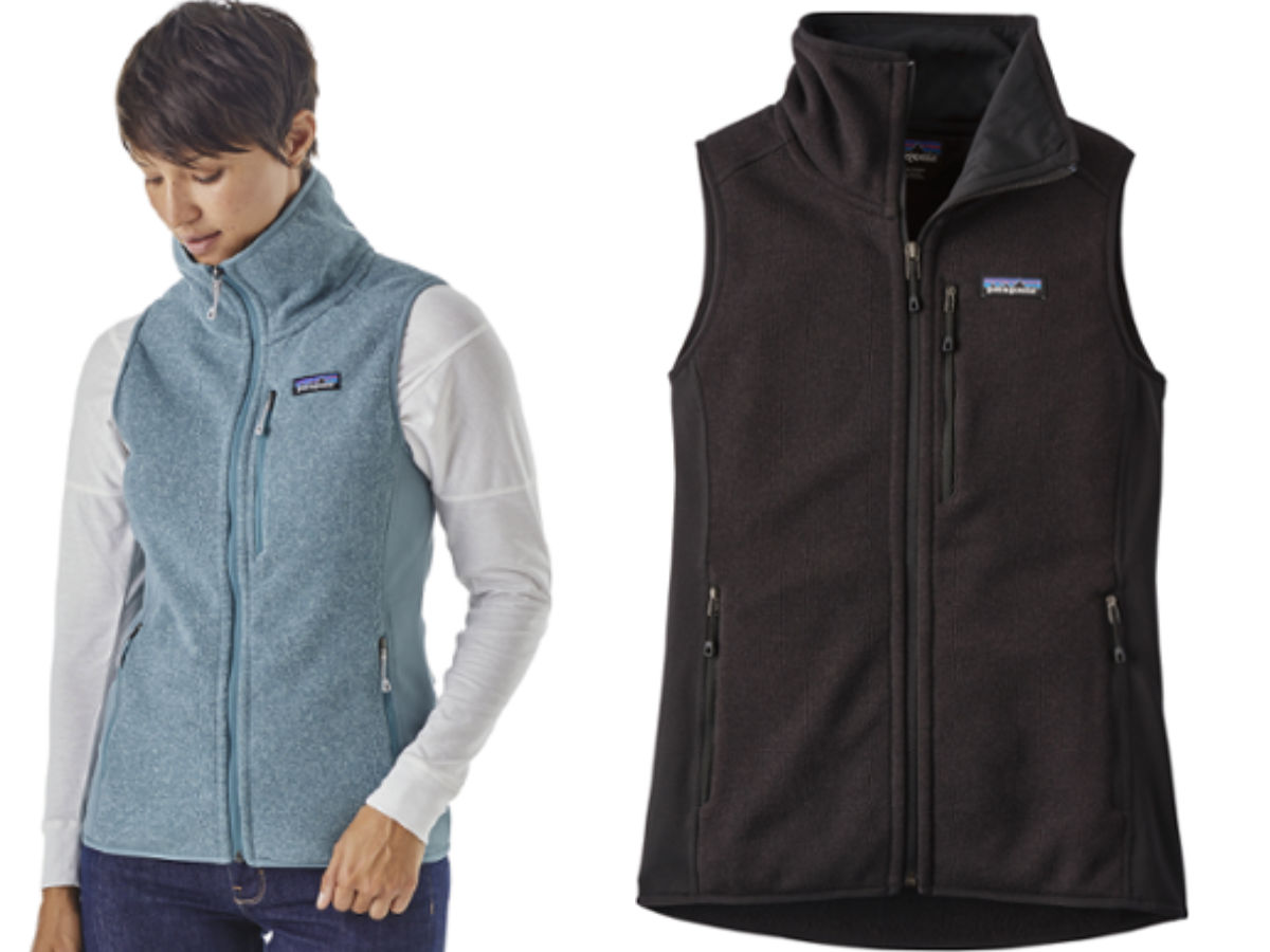 Patagonia women's fleece vest