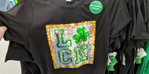 St. Patrick's Day Tees Only $1 at Walmart + More