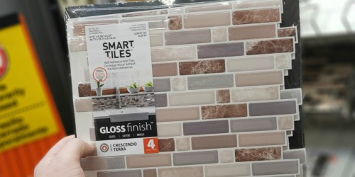 Up to 40% Off Peel & Stick Wall Tiles at Home Depot | Easy Kitchen or Bathroom Upgrade