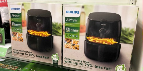 Philips Viva TurboStar Air Fryer as Low as $83.99 Shipped (Regularly $230) + Get $10 Kohl's Cash