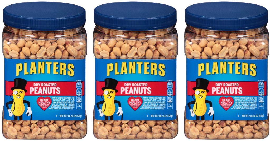 Planters Dry Roasted Peanuts 34.5oz 3