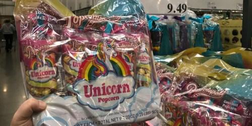 Popcornopolis Unicorn Mini Cones 10-Count Just $9.49 at Costco + More