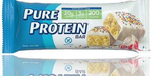 Amazon: Pure Protein Gluten Free Bars 6-Count Just $3.70 Shipped (Only 62¢ Per Bar)