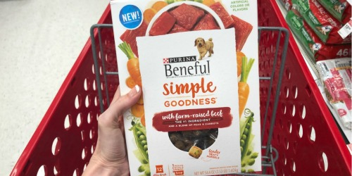 Up to 70% Off Purina Beneful Dog Food After Target Gift Card
