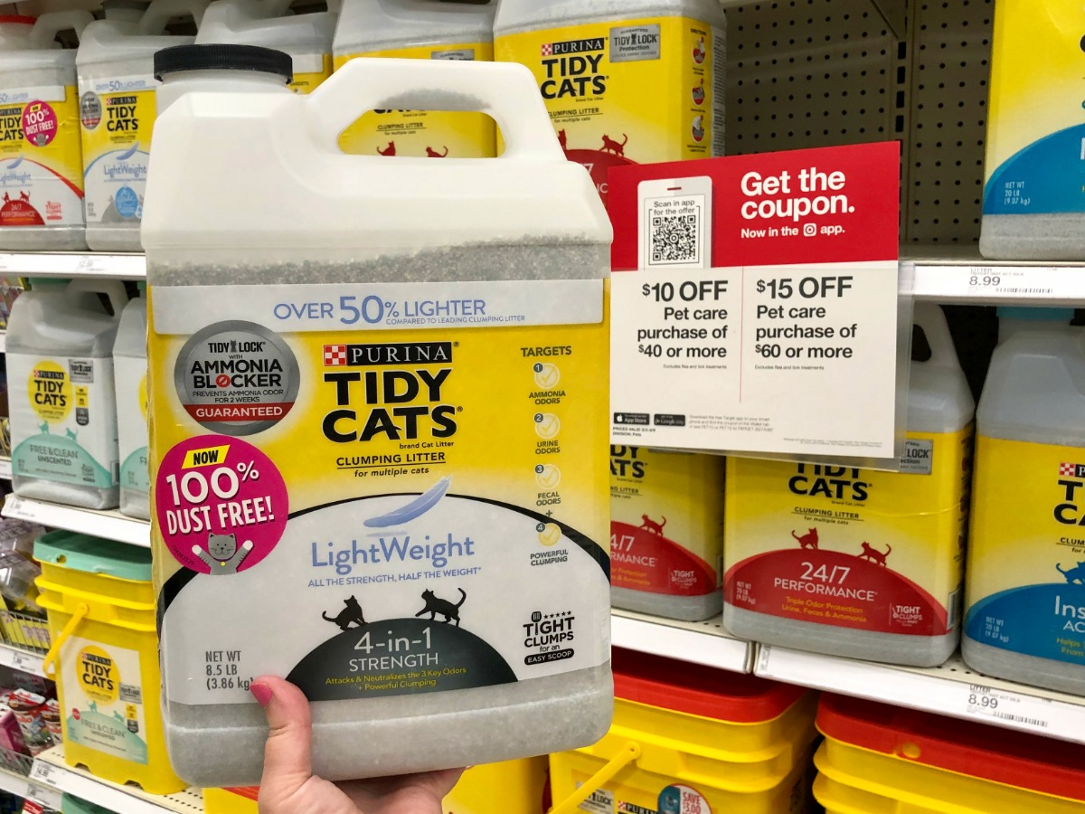 picture about Tidy Cat Printable Coupon called Contemporary Purina Tidy Cats Coupon codes \u003d Cat Muddle Merely $8 Just about every at Focus