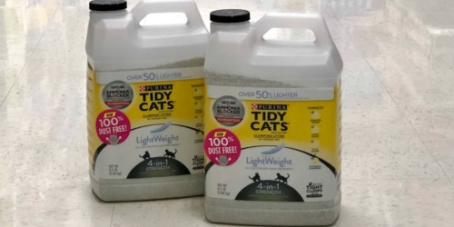 NEW Purina Tidy Cats Coupons = Cat Litter Only $8 Each at Target