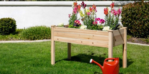 Raised Garden Bed Planter Stand Only $76.50 Shipped (Regularly $182)