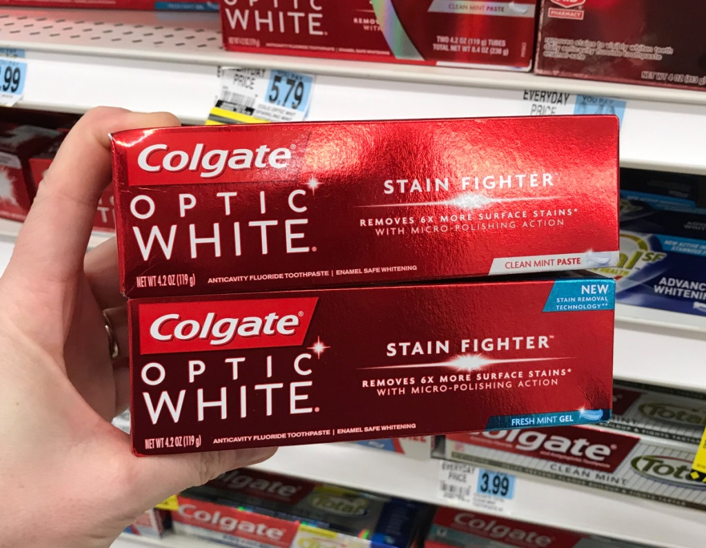 Rite Aid Colgate Optic