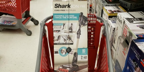 Shark ION Cord-Free Multiflex Vacuum Only $149.99 at Target (Regularly $450)