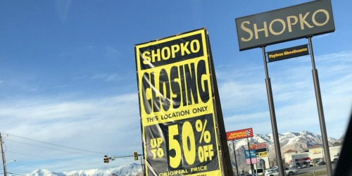 Shopko to Close All Remaining Stores by June 2019